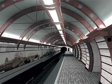 Открытие новой станции метро