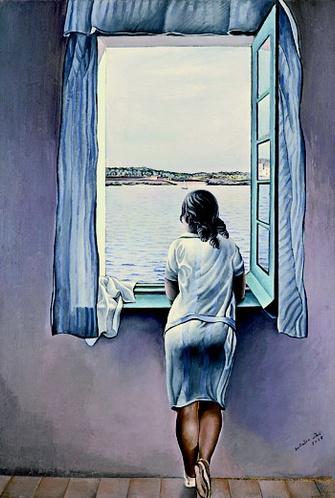 Сальвадор Дали, «Фигура у окна», 1925 год