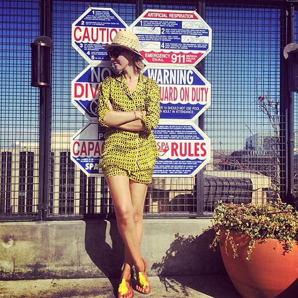 Ксения Собчак в Лос-Анджелесе