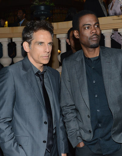 Бен Стиллер (Ben Stiller) и Крис Рок (Chris Rock)
