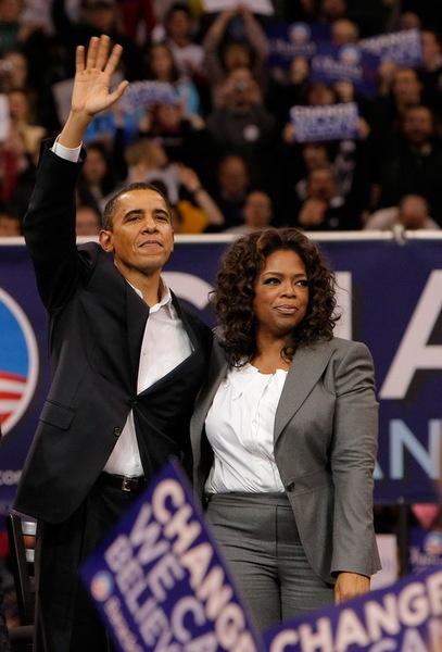 Барак Обама: в присутствии Опры Уинфри как за каменной стеной!