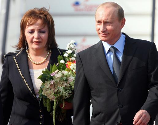 Владимир Путин, Людмила Путина