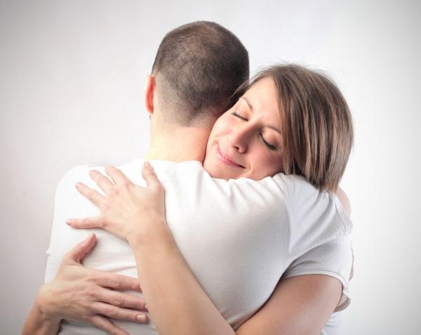 Ласкает себя приход мужа
