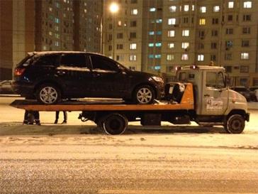 Сергей Лазарев попал в ДТП