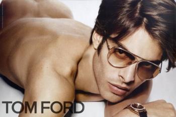 Джон Кортахарена в рекламной кампании Tom Ford