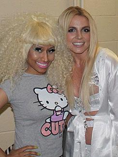 Ники Минаж (Nicki Minaj) Бритни Спирс (Britney Spears)
