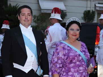 свадьба в Монако, Шарлен Уиттсток, князь Альбер