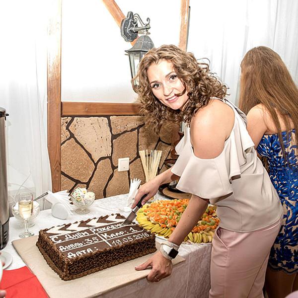 Татьяна на празднике, фото