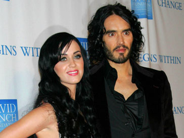 Рассел Бренд (Russel Brand) и Кэти Перри (Katy Perry)