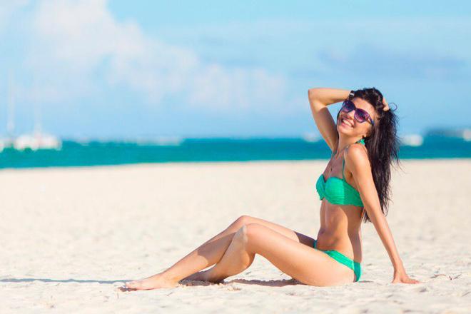 картинки красивые девушек на пляжу