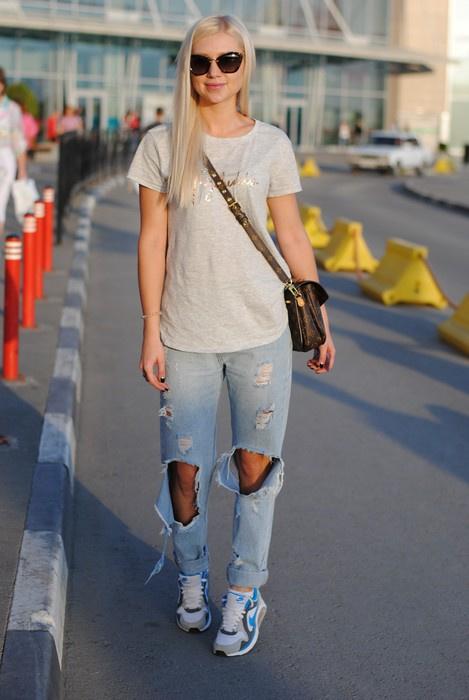 Стильные модные девушки фото