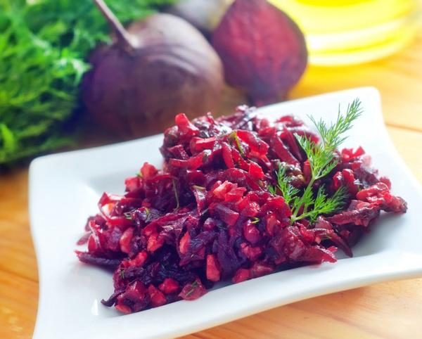 салат из свеклы простой рецепт
