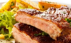 Коптим свиные ребра быстро и вкусно