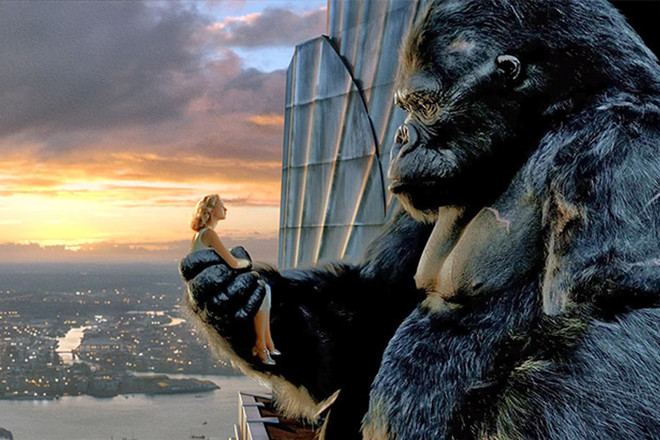 Кадр из фильма «Кинг-Конг»