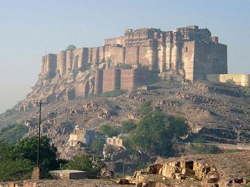 Крепость Мехрангарх XV века