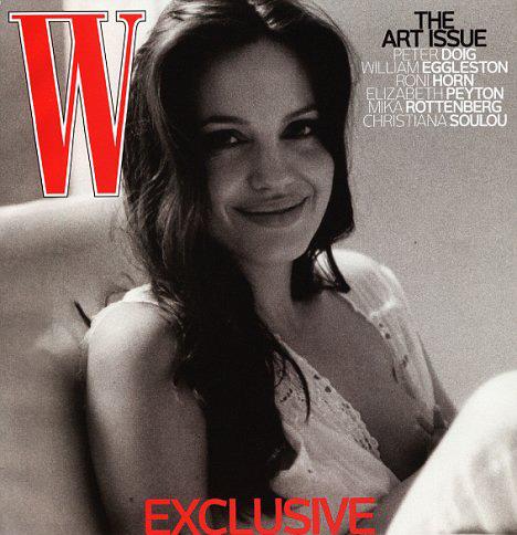 Прошлогодняя обложка журнала W.