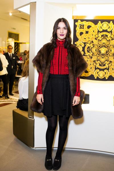Селебрити на презентации осенней коллекции Versace   галерея [1] фото [7]