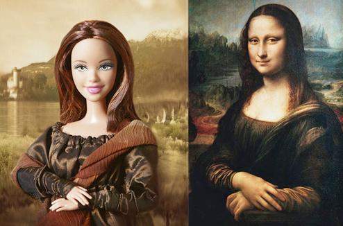 Барби Мона Лиза