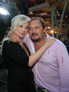 Стас Михайлов и Елена Канчельскис