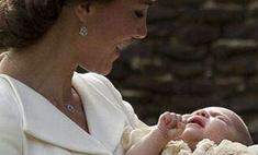 Кейт Миддлтон окрестила дочь Шарлотту