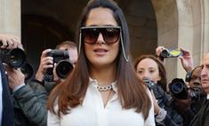 Сальма Хайек стала жертвой модного провала на Неделе моды