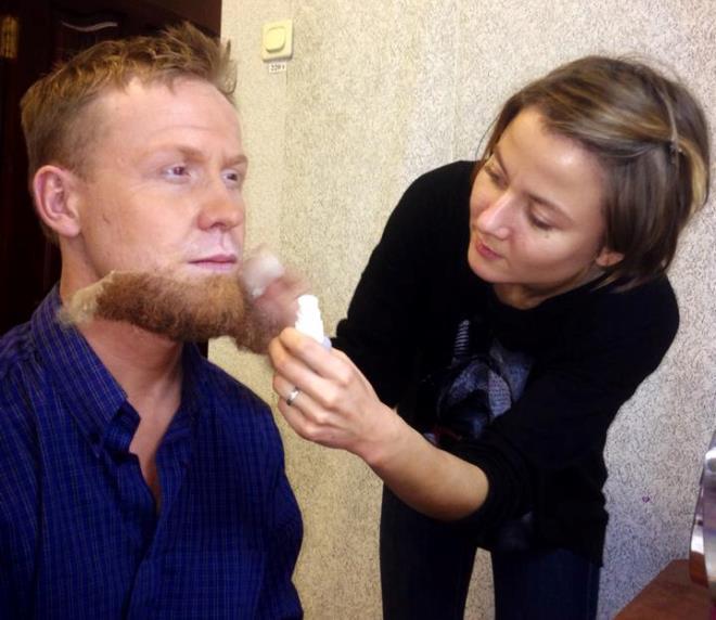 Антон Богданов с бородой