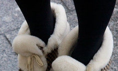 Туфли, ботинки, сандалии: уличный стиль на российской Неделе моды
