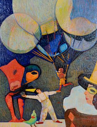 Картина «Цирк дю Солей»