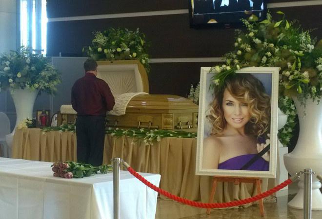Похороны Жанны Фриске фото