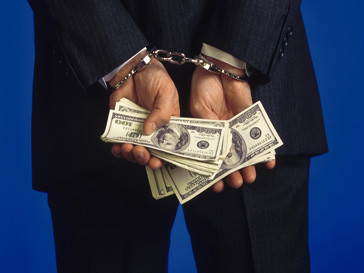 Объемы борьба со взятками сократились