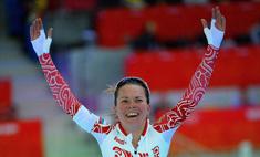 Конькобежка Ольга Граф разделась после победы