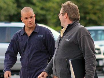 Мэтт Деймон (Matt Damon) пожертвовал шевелюрой ради кино