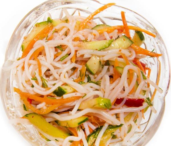 рецепты корейских и дунганских салатов фунчоза