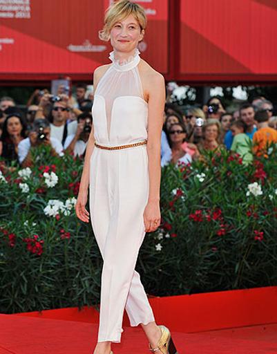 Альба Рорвахер (Alba Rohrwacher) на церемонии закрытия 68-го Венецианского кинофестиваля