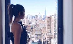 Новый тренд в Instagram: загадочные фото у окна