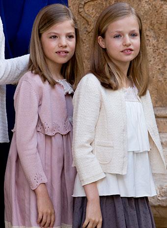 Принцессы София и Леонора