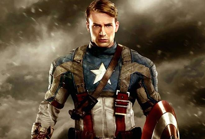 Крис Эванс, Капитан Америка, Первый Мститель