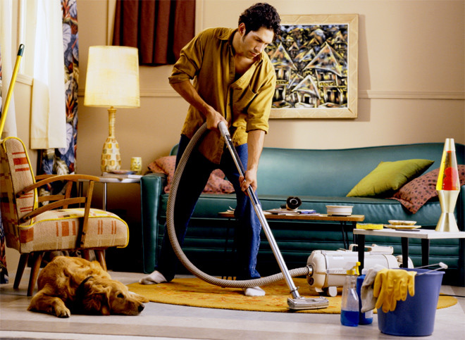 Мужские способы уборки