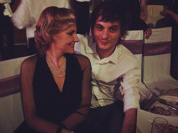 Гости свадебного ужина - Рената Литвинова и Александр Терехов