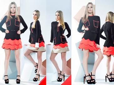 Джорджия Мэй Джаггер в рекламной кампании LUBLU Kira Plastinina, осень -зима 2012/13