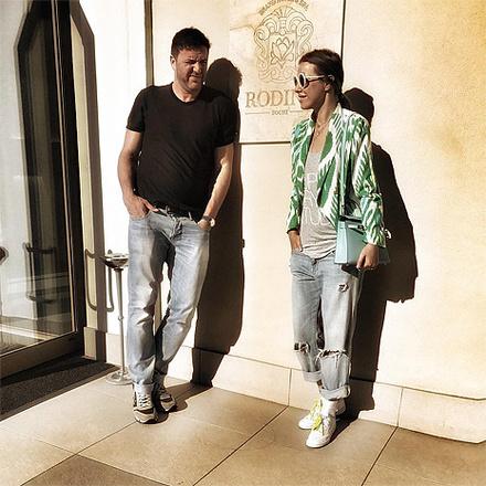 Ксения Собчак и Максим Виторган, фото