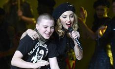 Мадонна спела дуэтом с сыном