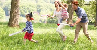 Время, потраченное на игру с детьми, никогда не бывает потерянным