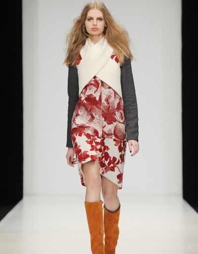 Mercedes-Benz Fashion Week Russia: Dasha Gauser, осень-зима 2012/13