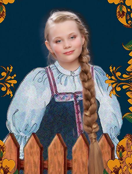 Ульяна Семенова, «Уральская краса – русская коса», фото