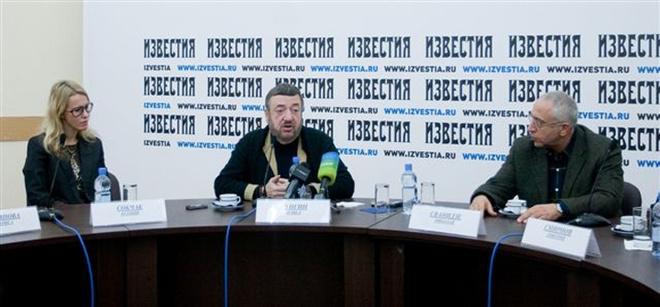 Ксения Собчак, Павел Лунгин и Николай Сванидзе