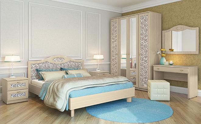 Белорусская мебель купить в Ростове-на-Дону, спальня «Некст-классик»