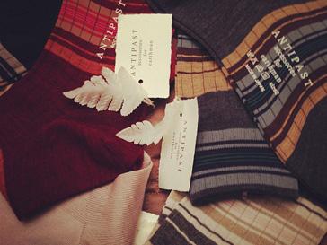 Яркие полосатые носки Antipast - еще одна модная покупка Ксении Собчак