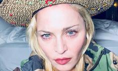 59-летняя Мадонна разделась для нескромного селфи