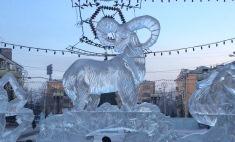 Выбираем лучшие ледовые городки и елки Красноярска!